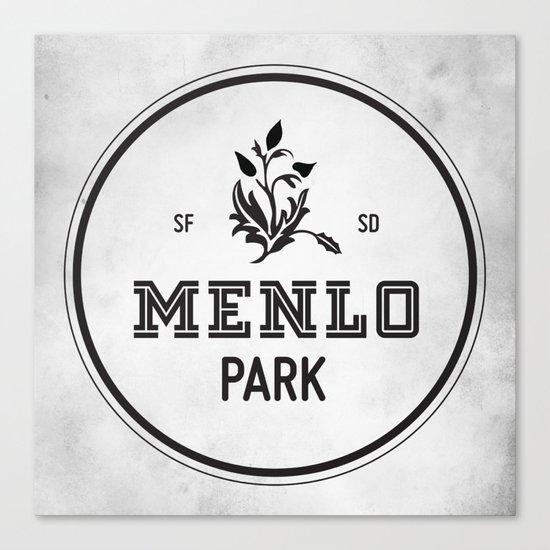 Menlo Park Canvas Print