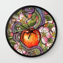 The Great Deceiver Wall Clock