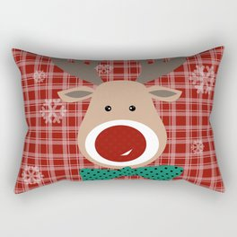 Deer. Patchwork Rectangular Pillow