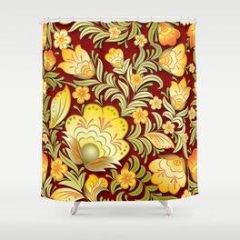 Art Flowers V2 Shower Curtain