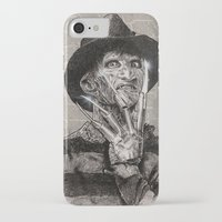 freddy krueger iPhone & iPod Cases featuring freddy krueger by calibos