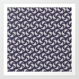 SwirlyWhirly (Patterns Please) Art Print