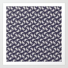 Swirly Whirly (Patterns Please) Art Print