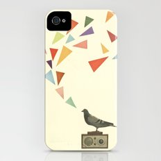 Pigeon Radio iPhone (4, 4s) Slim Case