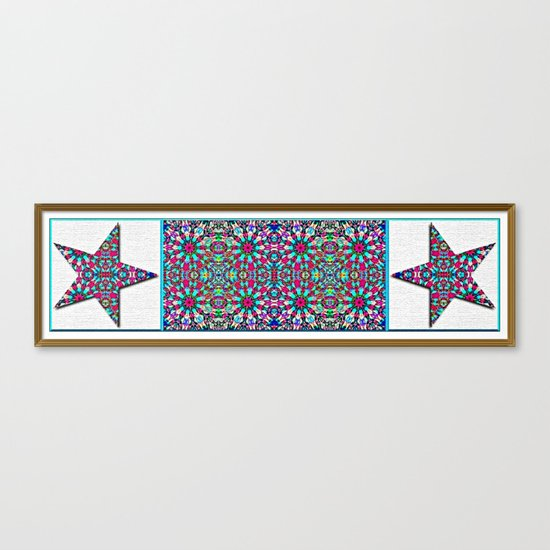 Starry Garden Canvas Print