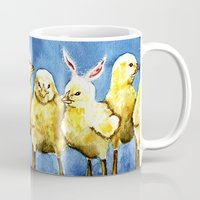 easter Mugs featuring Easter by tsquared91