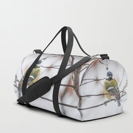 May the Force be with you. Tit Vader Duffle Bag