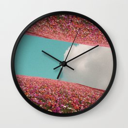 Greetings from Nowhere Wall Clock