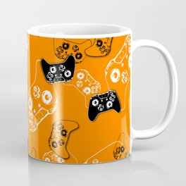 Video Game Orange Coffee Mug
