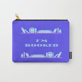 Im Booked - Blue Carry-All Pouch