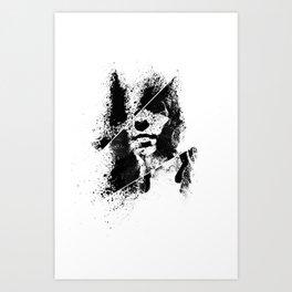 HELLO // GOODBYE Art Print