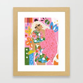 Living in Chaos Framed Art Print