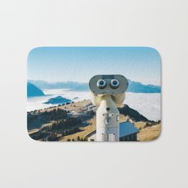 Alps of Switzerland Viewpoint Bath Mat