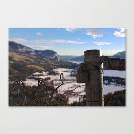 Wolf Creek 1 Canvas Print