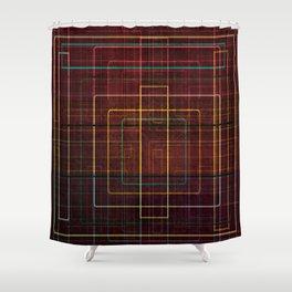The Maze Shower Curtain