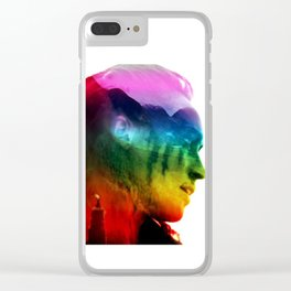 Lexa Pride Clear iPhone Case