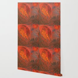 Blazing Planet Wallpaper