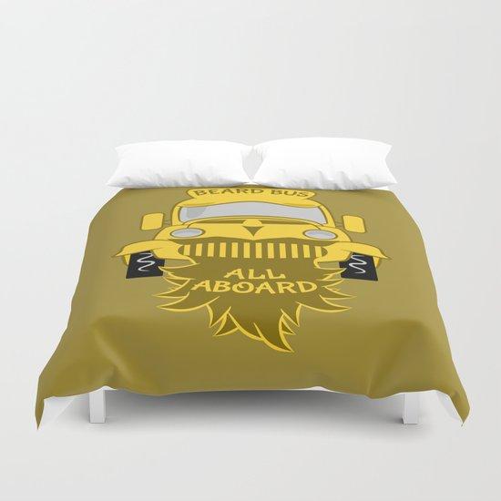 Beard Bus Duvet Cover