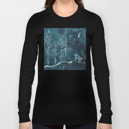 Marble Scenery Long Sleeve T-shirt