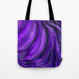 Purple Drapes Tote Bag
