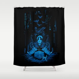 Retirement (Replicant) Shower Curtain