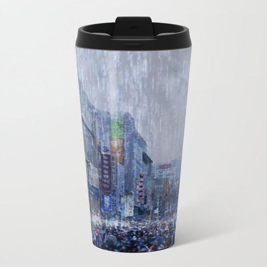 The Downpour Metal Travel Mug