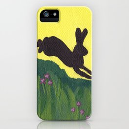 Young Peter Rabbit - Panel 1 iPhone Case