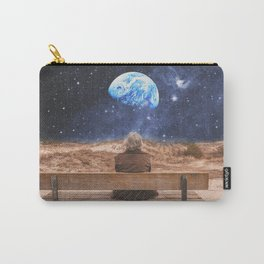PLANET EARTH, THE UNIVERSE AND I Carry-All Pouch