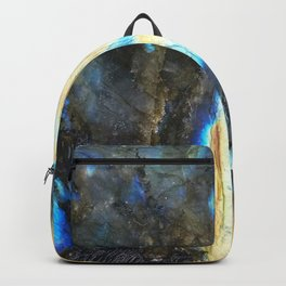 Labradorite Crystal Backpack