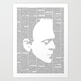 Frankenstein - The Modern Prometheus Art Print