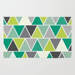 Triangulum - Emerald Rug