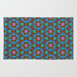 islamic geometric pattern Rug