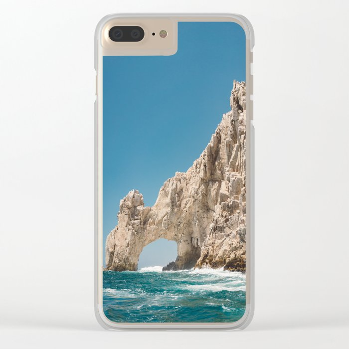 Arch of Cabo San Lucas II Clear iPhone Case