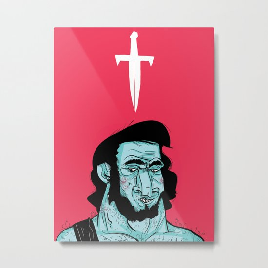 Dreamy Barbarian Metal Print