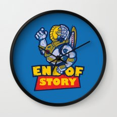 END OF STORY Wall Clock