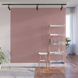Solid Khaki Rose Color Wall Mural