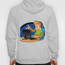 Monkey and the computer Hoody