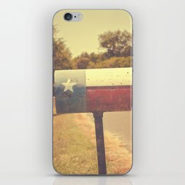 Deep in the heart of texas { You've got mail series 2012} iPhone Skin