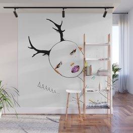 Deciduous Horn Wall Mural