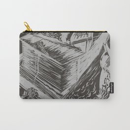 linocut#2 Carry-All Pouch
