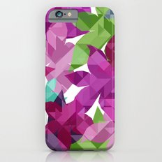 Geometric Floral I Slim Case iPhone 6s