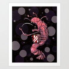 Popcorn Shrimp Art Print