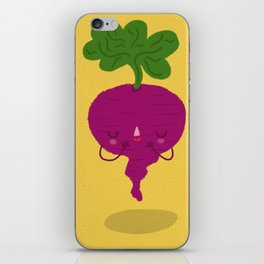 Shy Beetroot iPhone Skin