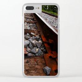 RAILROAD ADVENTURE 21 Clear iPhone Case