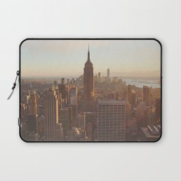 New York from above Laptop Sleeve