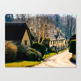 Charming Cotswolds. Canvas Print