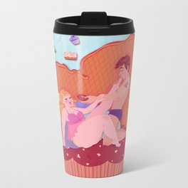 Cupcake Footdlove Metal Travel Mug