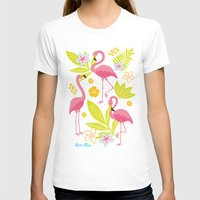 flamingos T-shirts featuring Flamingos by nice illus