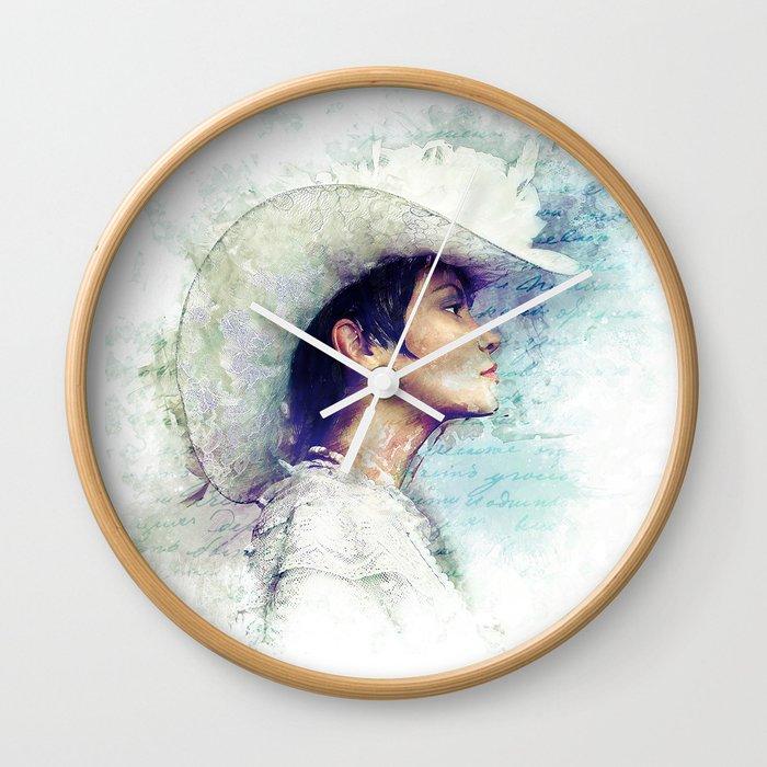 Mitya's Love Wall Clock