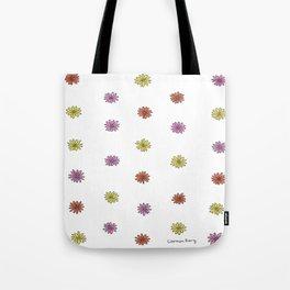 Multicolor Mini Daisies Tote Bag